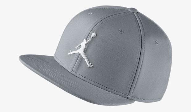 be7261858b11 Jordan 5 Cement White Jumpman Snapback Hat