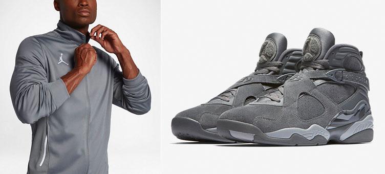8b90e3ac0a0 Air Jordan 8 Cool Grey Jacket Match | SneakerFits.com