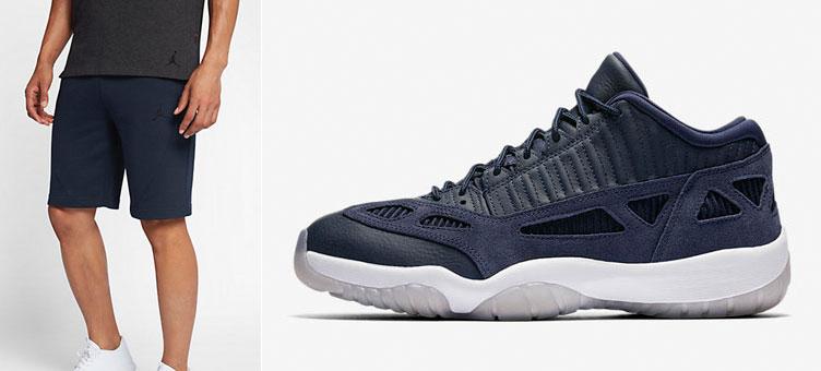 Air Jordan 11 Low IE Obsidian Shorts