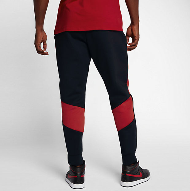 jordan-flight-tech-fleece-pants-black-red-4