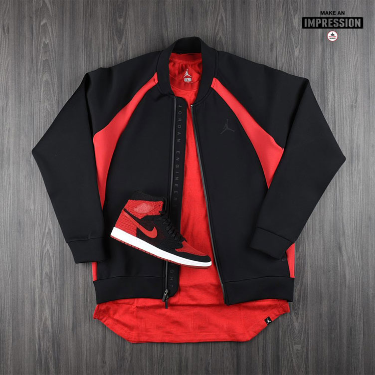 e39b7cf06e0 air-jordan-1-flyknit-banned-jacket. Jordan Sportswear Flight Tech ...