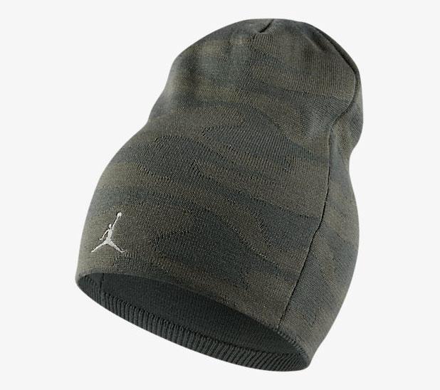 air-jordan-5-green-camo-knit-hat-beanie