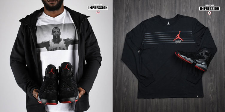 best service 695ef 83469 Air Jordan 8 Cement Clothing Match | SneakerFits.com