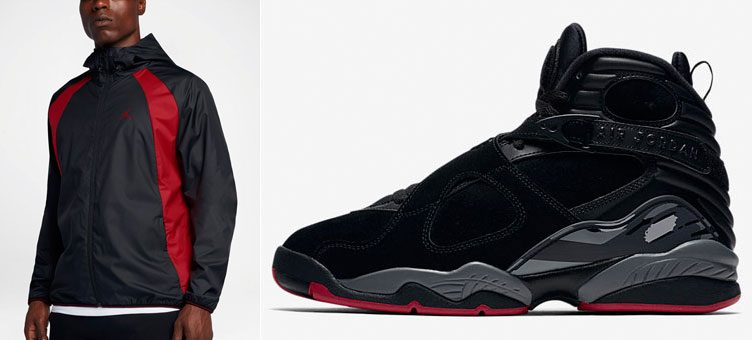 "Air Jordan 8 ""Cement"" x Jordan Wings Windbreaker Jacket"