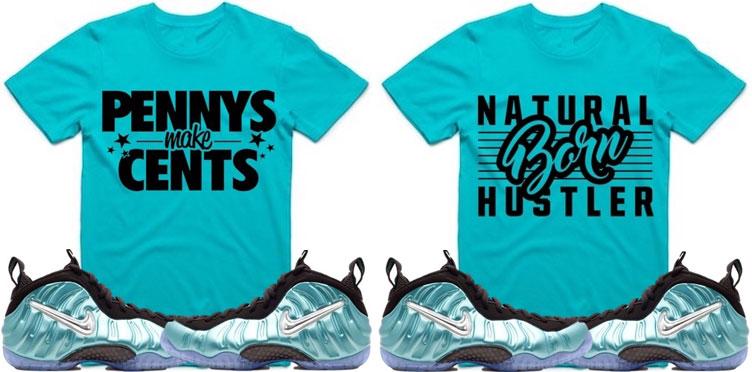 e520695e4 island-green-foamposite-sneaker-shirts. If you copped the Nike ...