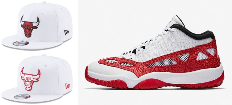 jordan-11-low-ie-white-gym-red-bulls-hats