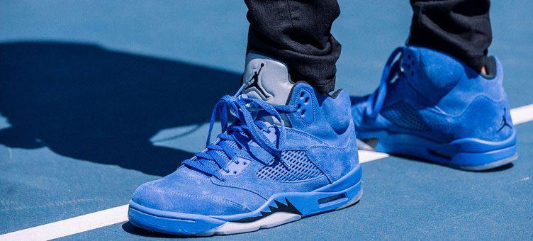 "Air Jordan 5 ""Blue Suede"" (Release Date)"
