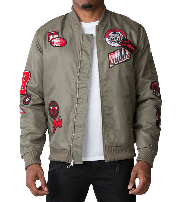 78920d05e904 Air Jordan 5 Camo Chicago Bulls Jacket