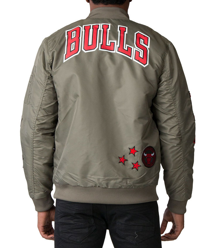 8f3d4a2c111b Air Jordan 5 Camo Chicago Bulls Jacket