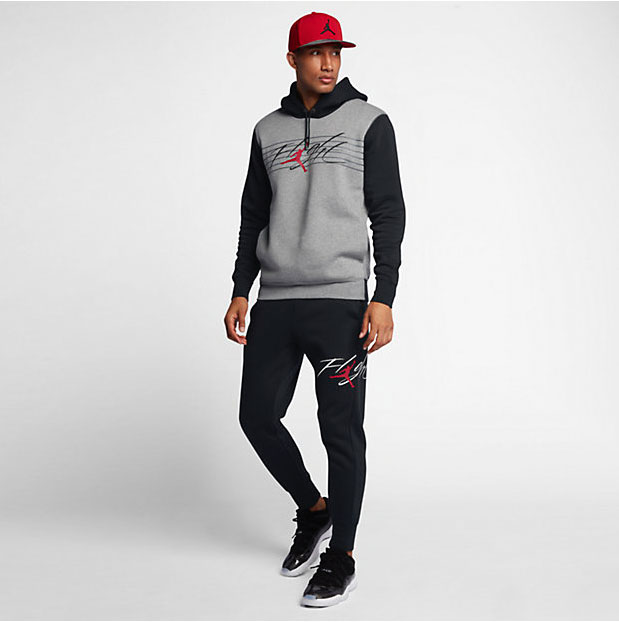 05aad002d5f4 Air Jordan 8 Cement Bred Hoodie and Pants
