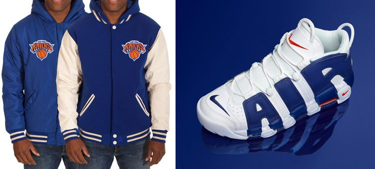 "New York Knicks Jackets to Match the Nike Air More Uptempo ""Knicks"""