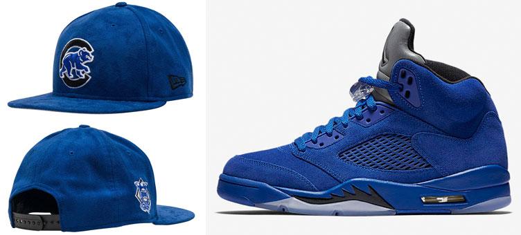 air-jordan-11-blue-suede-cubs-cap