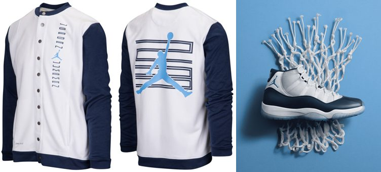 "Air Jordan 11 ""Win Like '82"" x Jordan Retro 11 Performance Jacket"