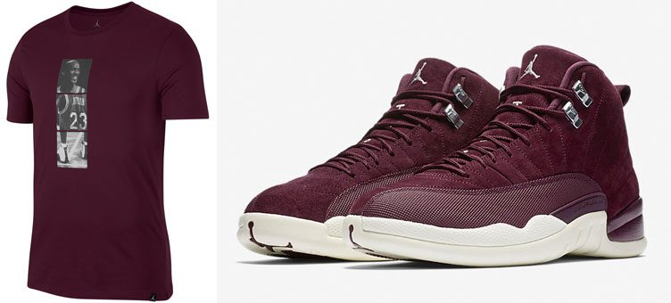 air-jordan-12-bordeaux-shirt
