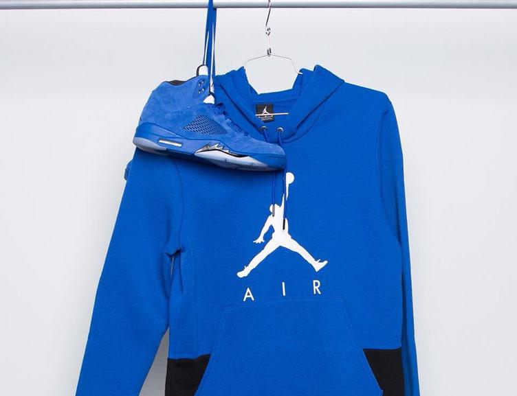 air-jordan-5-blue-suede-hoodie