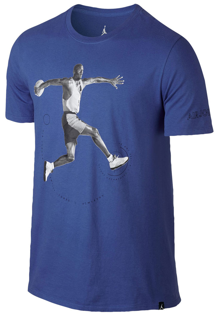 air-jordan-5-blue-suede-tee-shirt