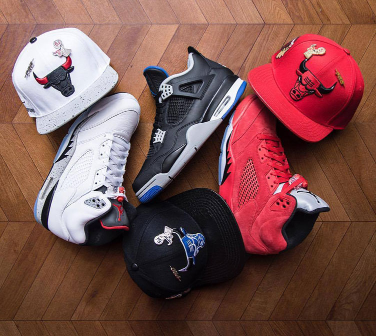 air-jordan-5-bulls-snapback-hat-match