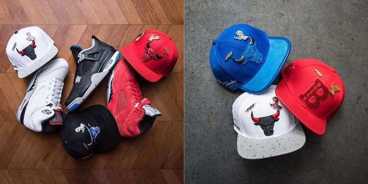 Pro Standard Chicago Bulls Hats to Match Recent Air Jordan Retro Releases