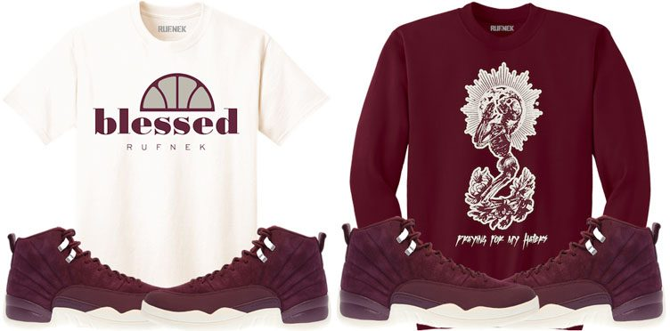 bordeaux-12-sneaker-match-shirts