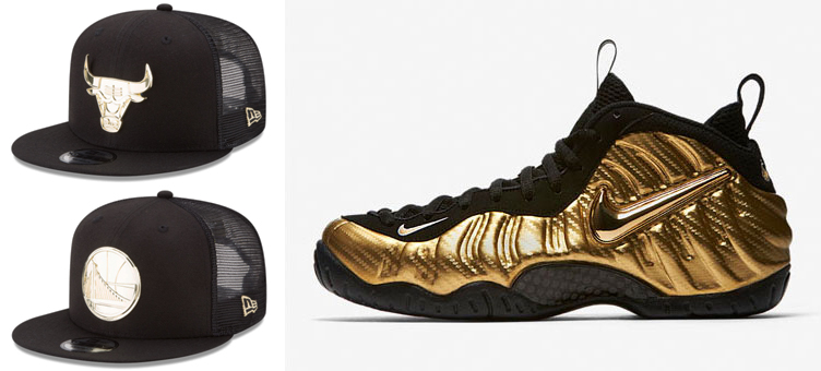 foamposite-gold-nba-mesh-snapback-trucker-hats