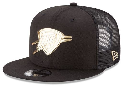 foamposite-metallic-gold-new-era-trucker-snapback-cap-okc