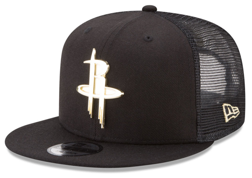 foamposite-metallic-gold-new-era-trucker-snapback-cap-rockets