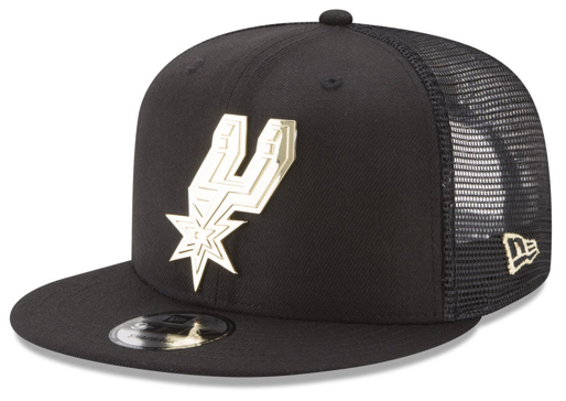 foamposite-metallic-gold-new-era-trucker-snapback-cap-spurs