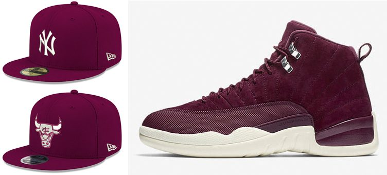 "Kicks & Caps Recap: The Best Hats to Hook with the Air Jordan 12 ""Bordeaux"""