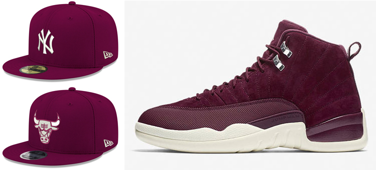 hats-to-match-jordan-12-bordeaux