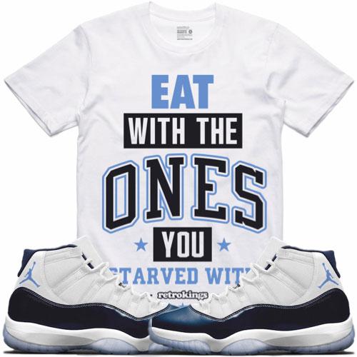 180a53c09dc Jordan 11 Midnight Navy Win Like 82 Shirts | SneakerFits.com