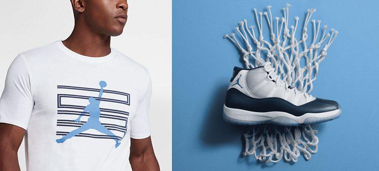 """Air Jordan 11 """"Win Like '82"""" x Jordan Sportswear AJ 11 T-Shirt"""