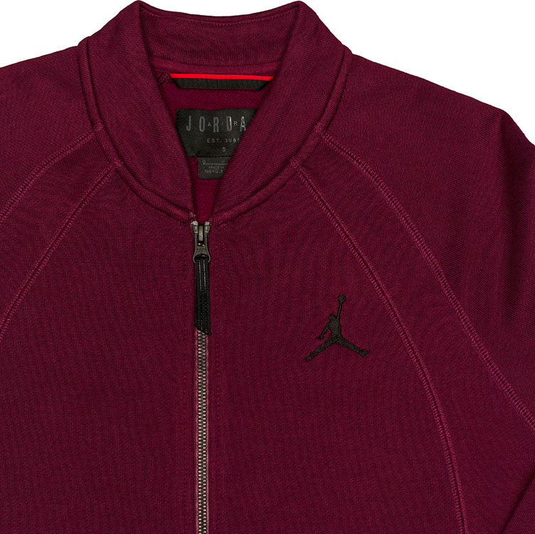 0b784b2c41c0d1 jordan-12-bordeaux-fleece-bomber-jacket-2