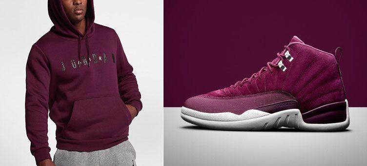 jordan-12-bordeaux-hoodie