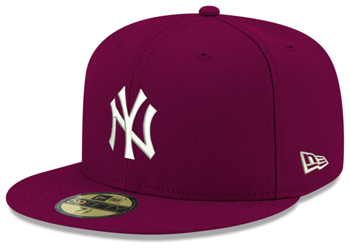 jordan-12-bordeaux-new-era-mlb-fitted-cap-new-york-yankees