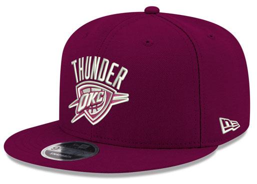 jordan-12-bordeaux-okc-thunder-new-era-snapback-hat