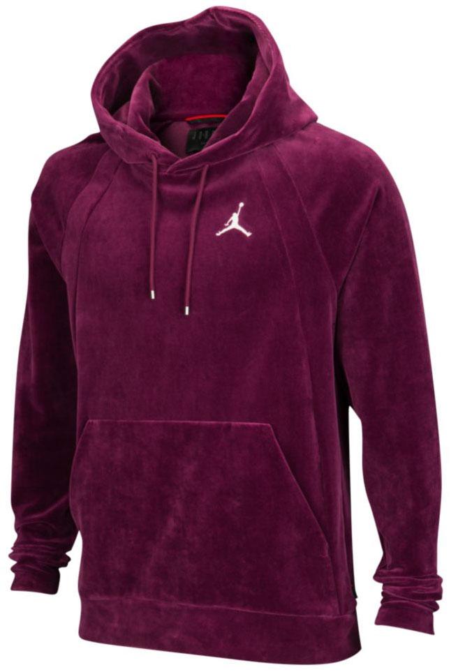 jordan-12-bordeaux-velour-hoodie