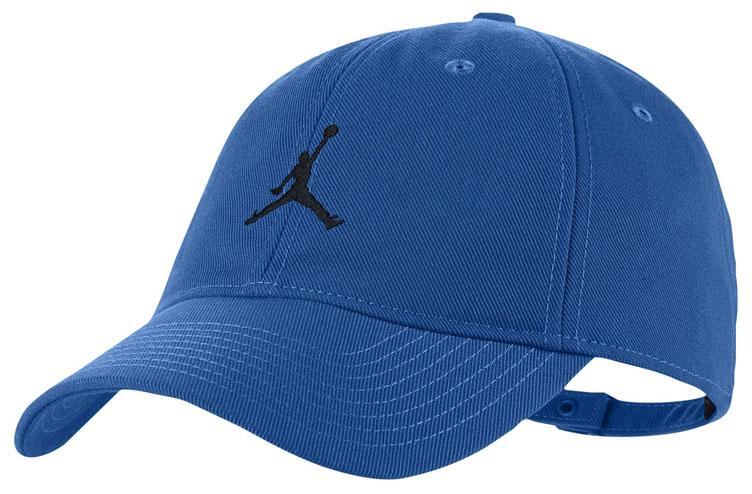 0d9543dfe Air Jordan 5 Blue Suede Dad Hat | SneakerFits.com