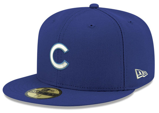 jordan-5-blue-suede-new-era-mlb-59fifty-fitted-cap-chicago-cubs