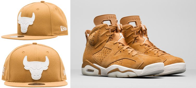 jordan-6-wheat-bulls-new-era-hat