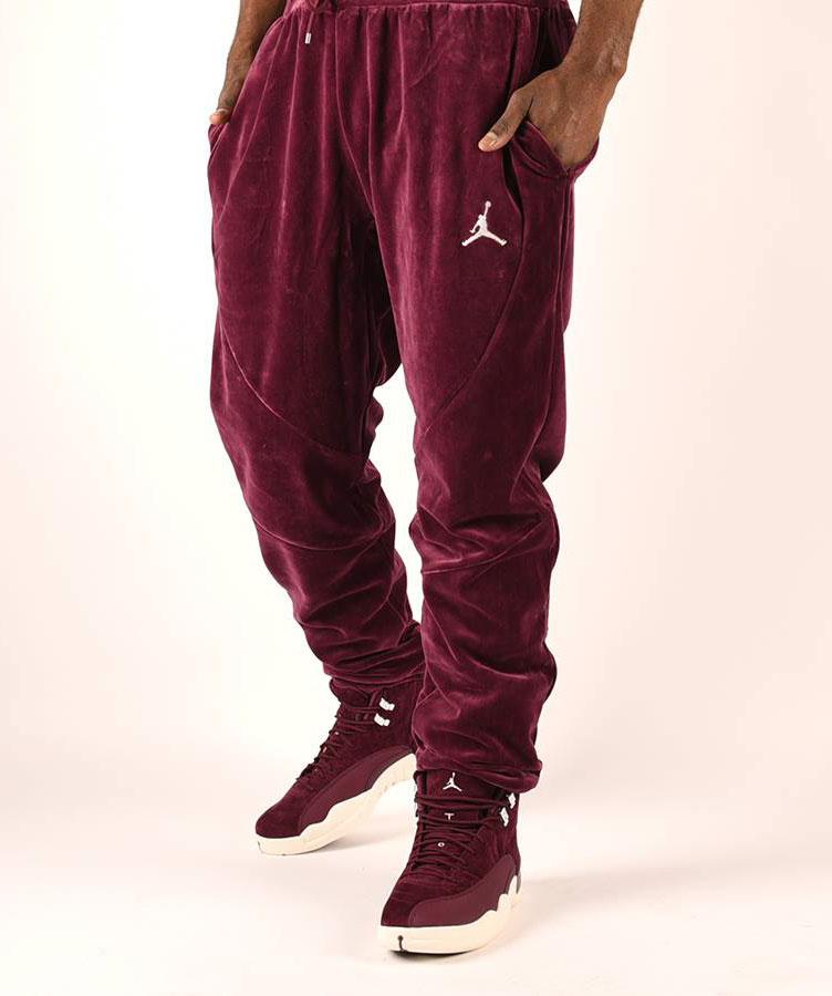 jordan-bordeaux-12-velour-pants