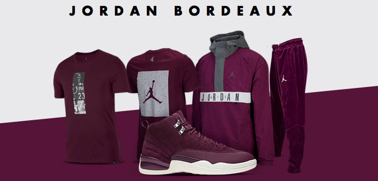 Jordan Bordeaux Apparel | SneakerFits.com