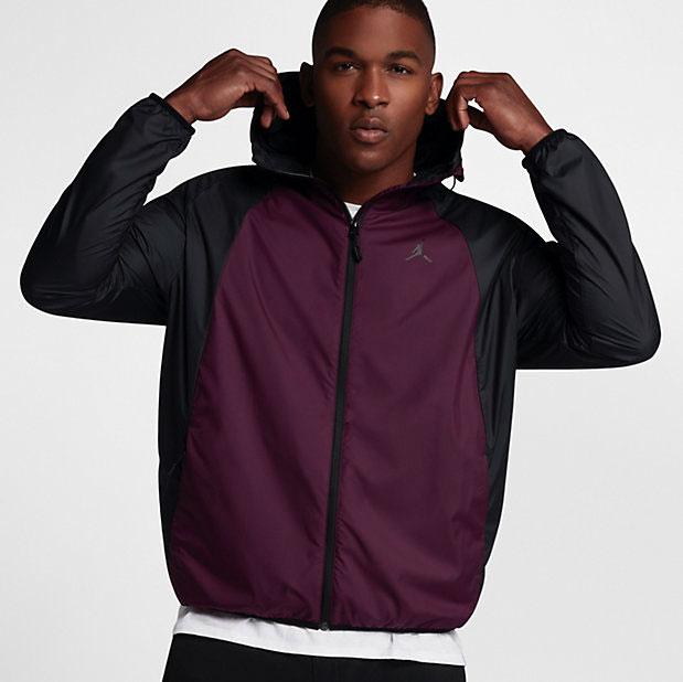 "df5d606c102 Air Jordan 12 ""Bordeaux"" x Jordan Sportswear Wings Windbreaker Jacket"