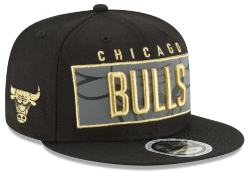 metallic-gold-foams-bulls-snapback-hat
