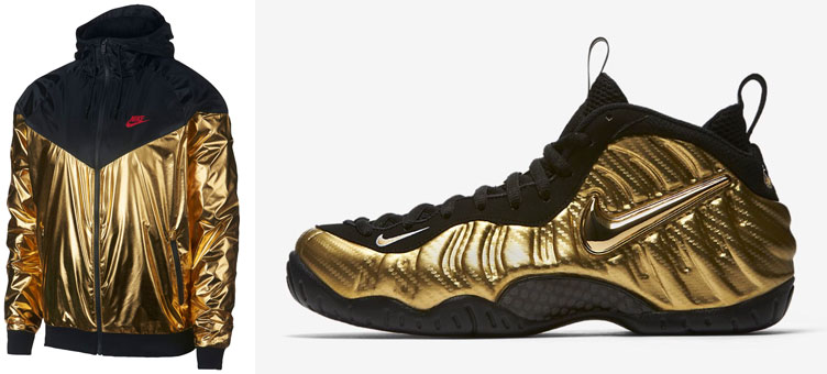 "acbd1f01816 nike-foamposite-metallic-gold-jacket. With the Nike Air Foamposite Pro "" ..."