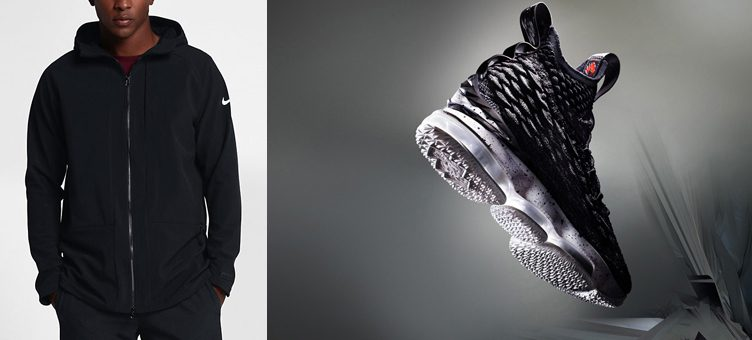 "Nike LeBron 15 ""Ashes"" x Nike LeBron Basketball Jacket"