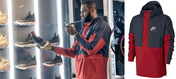 Featured Fit: LeBron James Wearing the Nike Air Anorak Jacket