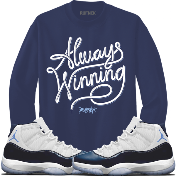 Win like 82 Collection Always Winning Crewneck copy 2