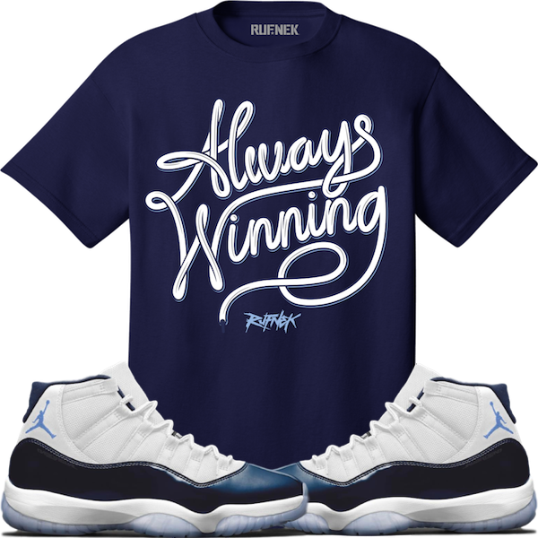 Win like 82 Collection Always Winning tee