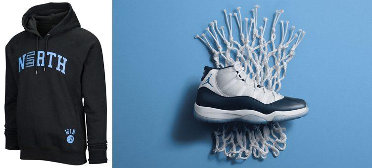 """Air Jordan 11 """"Win Like '82"""" x Jordan Retro 11 North Pullover Hoodie"""