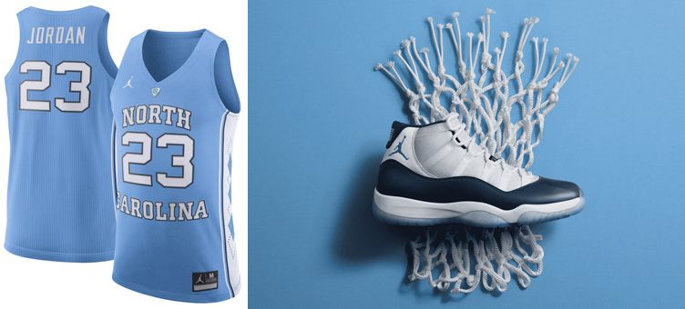b1b65723e air-jordan-11-win-like-82-michael-jordan-. Bring it back to MJ s days  on-court with UNC in this Michael Jordan North Carolina Tar Heels Authentic  Basketball ...